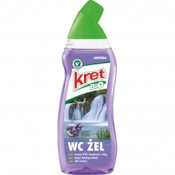 ZEL DO WC BIO KRET 750ML LAWENDA