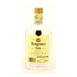 Zakupy online SEAGRAM`S LIME TWISTED GIN 0,35L 38%